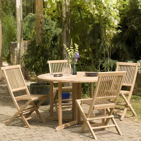 Woehler 4 Seater Dining Set