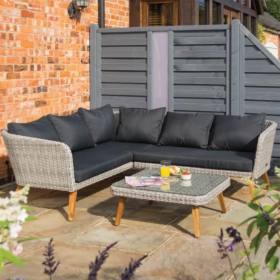 Wycombe 5 Seater Rattan Sofa Set